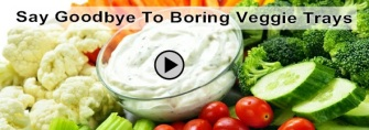 Boring Veggie Trays