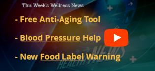 BP Help Anti Aging Food Label
