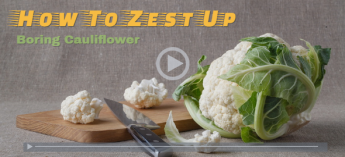 Zest-Up Your Cauliflower!